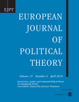"""""""Political Judgment Beyond Paralysis and Heroism: Deliberation, Decision and the Crisis in Darfur."""" European Journal of Political Theory 10, no. 2 (2011): 225–253."""